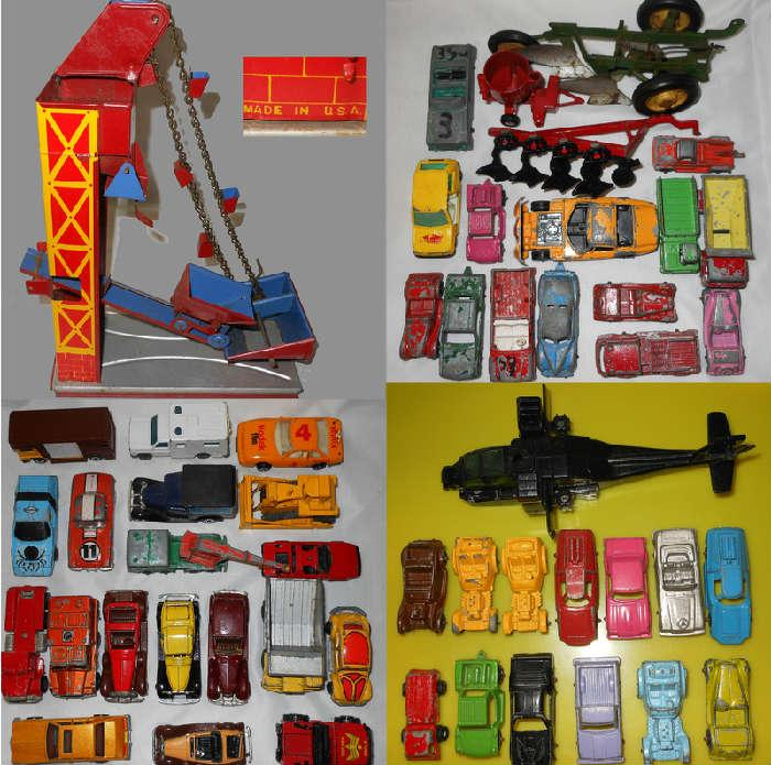 Small Sample of the Old Toy Cars and More