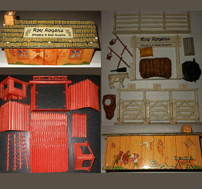 Roy Rogers Double R Bar Ranch and Roy Rogers Double R Bar Ranch Accessories, Fort Apache and Roy Rogers