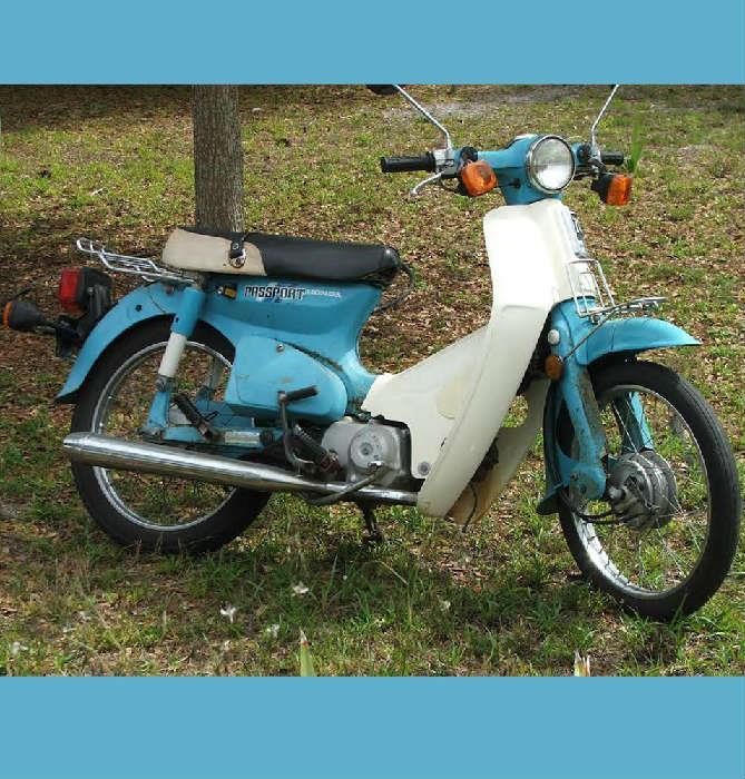 Honda Passport Scooter, needs some TLC