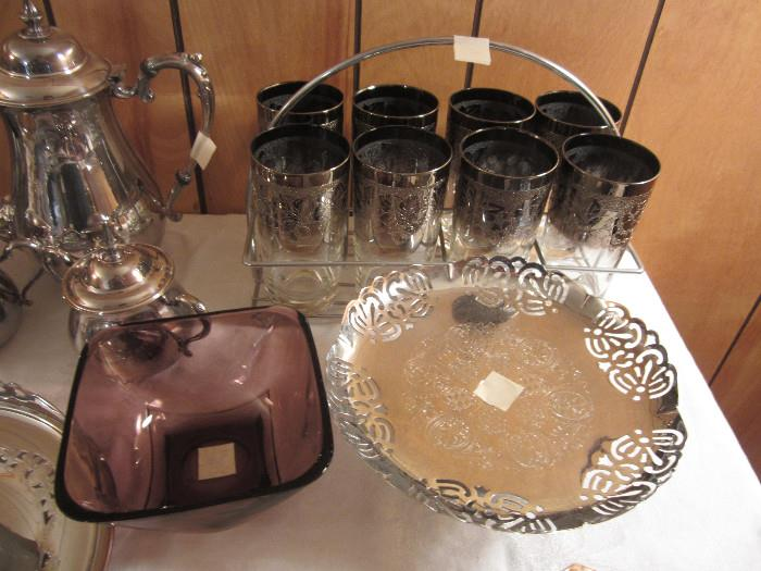 Mid Century Modern Items, Sheridan Silver Plate Tea Pot