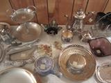 Interesting pieces. Nambe platter not pictured