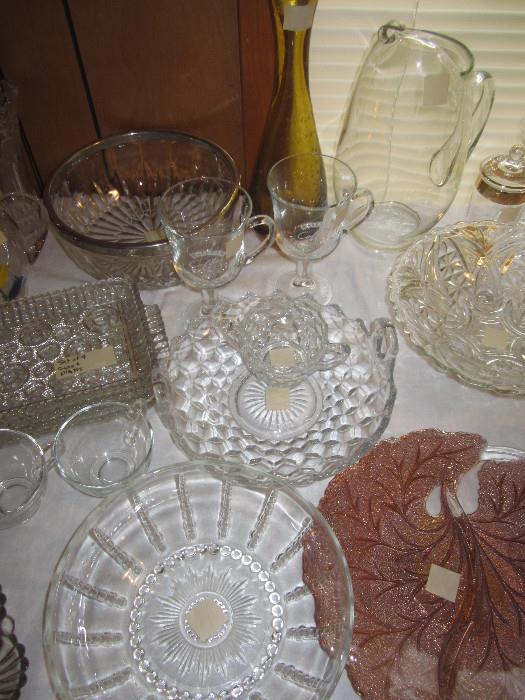 Fostoria Handled Bowl/Tray