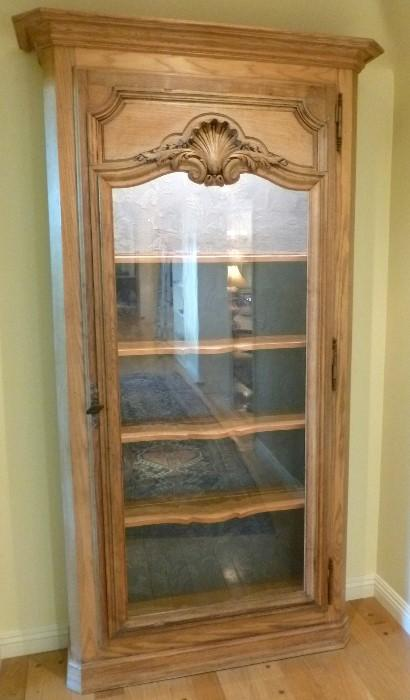 French Baroque Vitrine