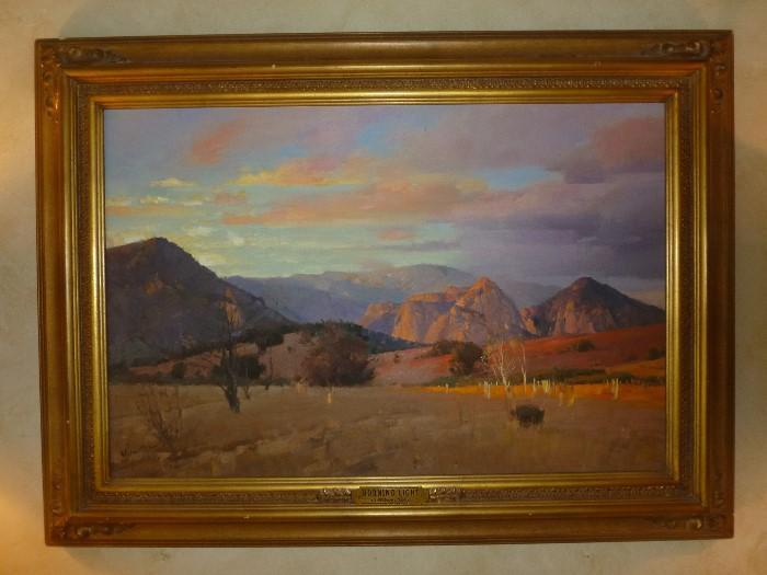 """Morning Light"" by Mian Situ, 20 x 30."
