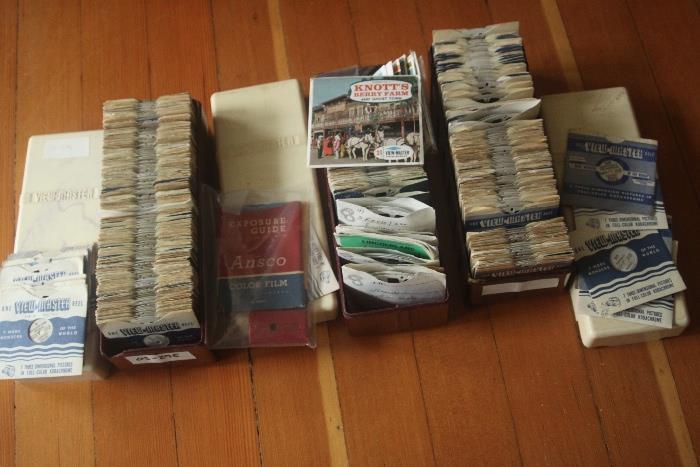 100s of vintage View-Master reels!