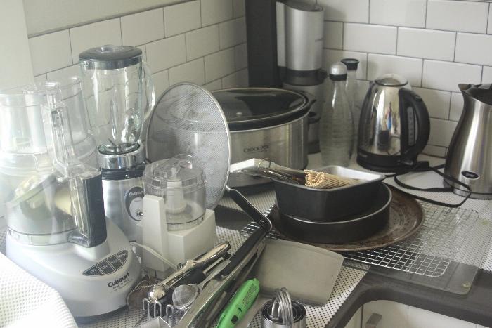 Cuisinart food processor, Osterizer, crockpot, Sodastream