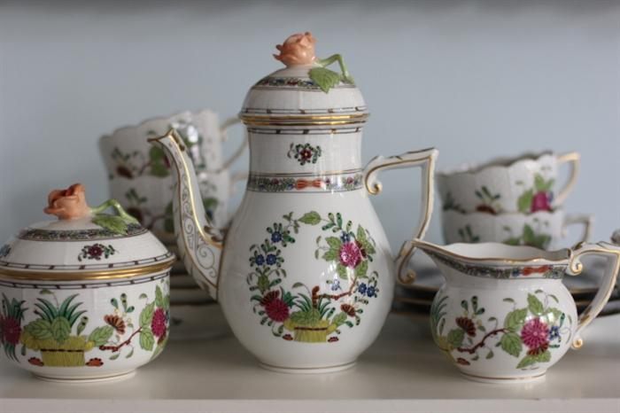 More Herend china