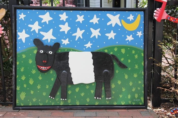 Great Fearrington folk art sign