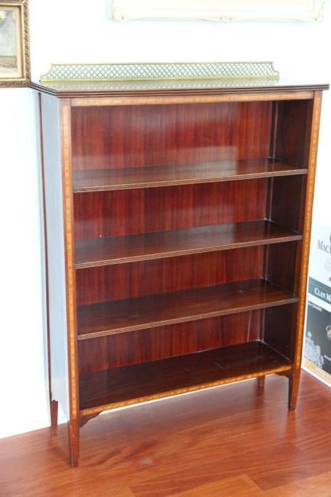 19th century English Regency bookcase