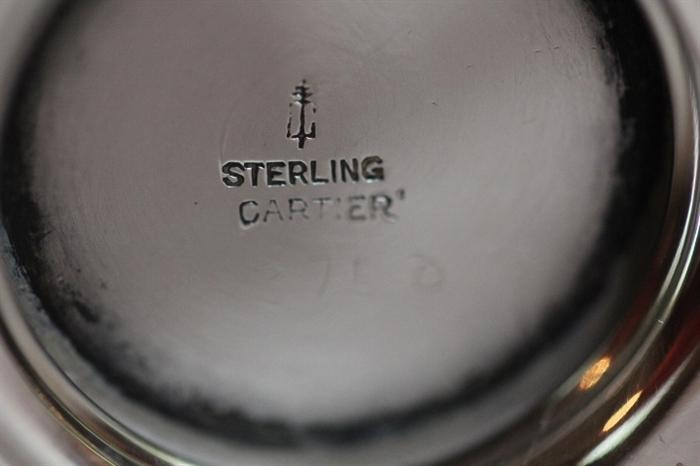 Cartier sterling