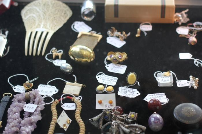 only part of our fabulous gold, silver and gemstone selection!