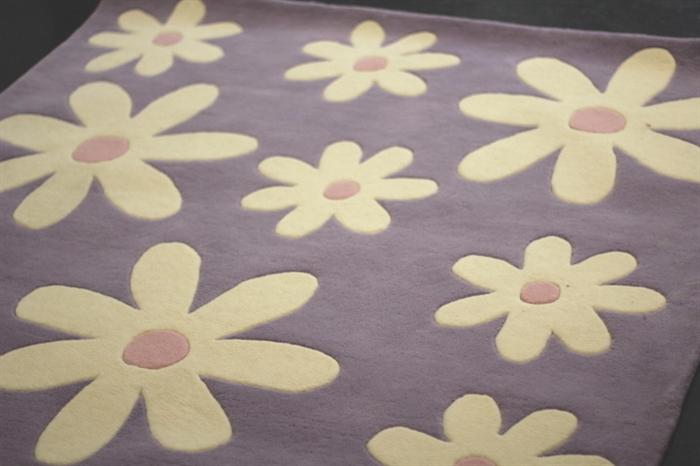 Cute bedroom rug from the Company Store