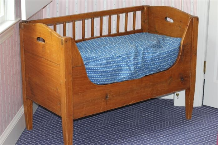 """sweet Italian """"lettino"""" (baby bed), purchased in Rome"""