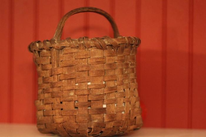 good handcrafted basket