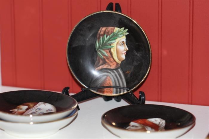 Ginori plates