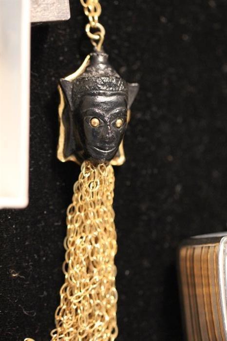 Blackamoor costume jewelry