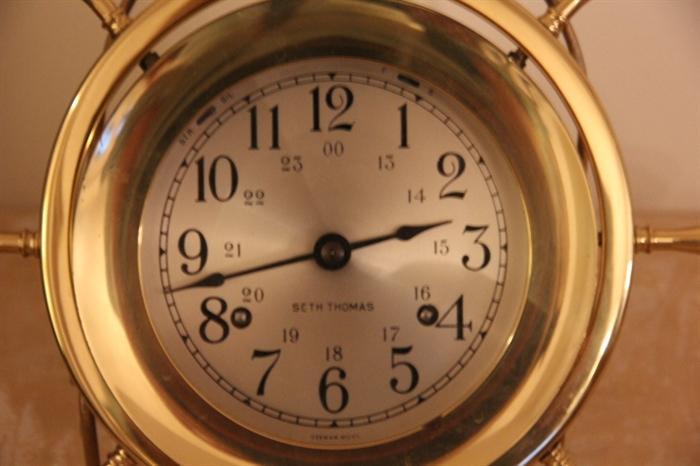 Seth Thomas ship's clock