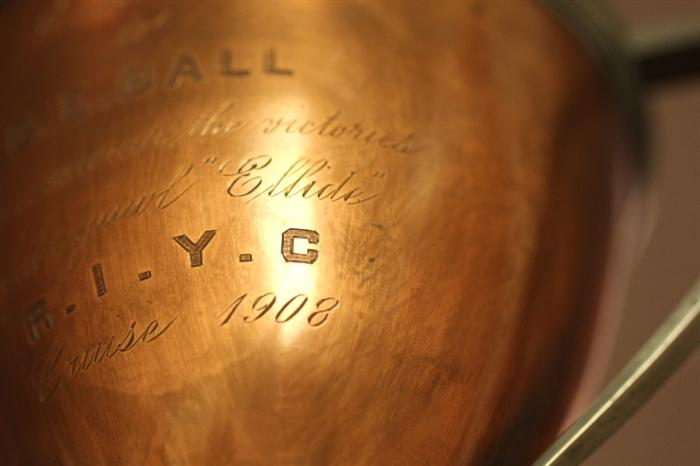 1908 yachting trophy