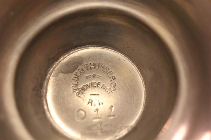 mark on 1908 pewter/copper yachting trophy