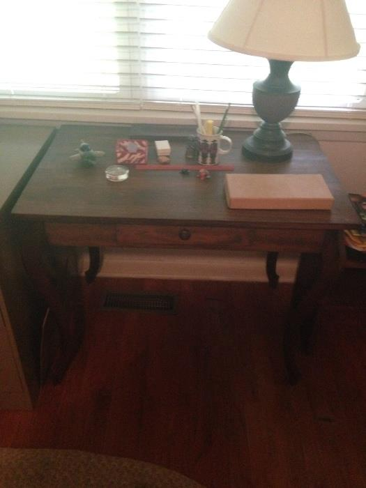 another photo of the vintage desks