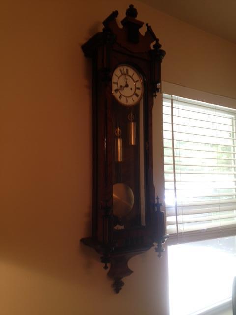 one of the Gustav Becker clocks