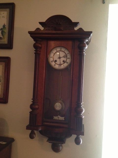 aother of the Gustav Becker wall clocks