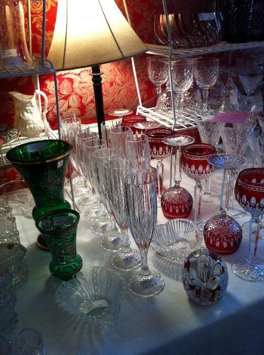 Waterford & other lovely glassware