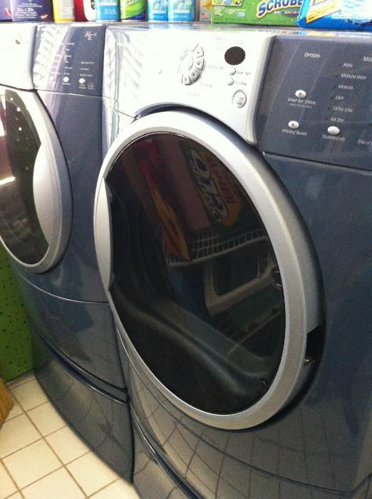 extra nice HE4 Kenmore front loading washer & dryer