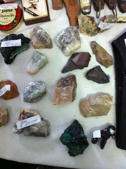 large rock collection