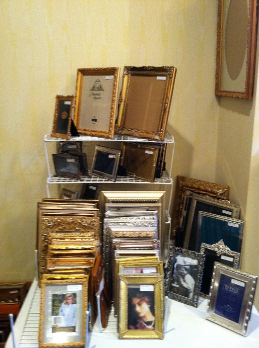 large variety of frames