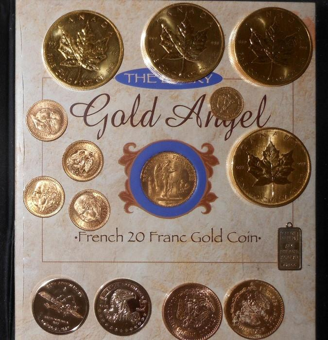 Gold Canadian One Ounce Coins and other Gold Coins