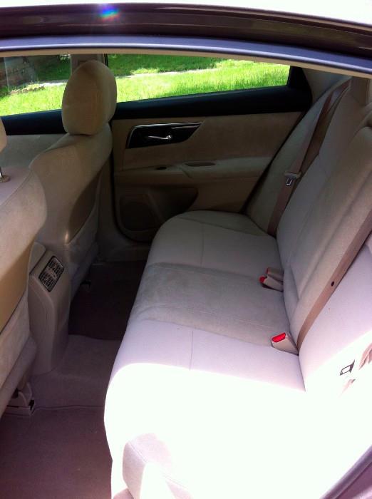 Back interior