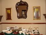 Other Country Rose pieces, mirror and prints
