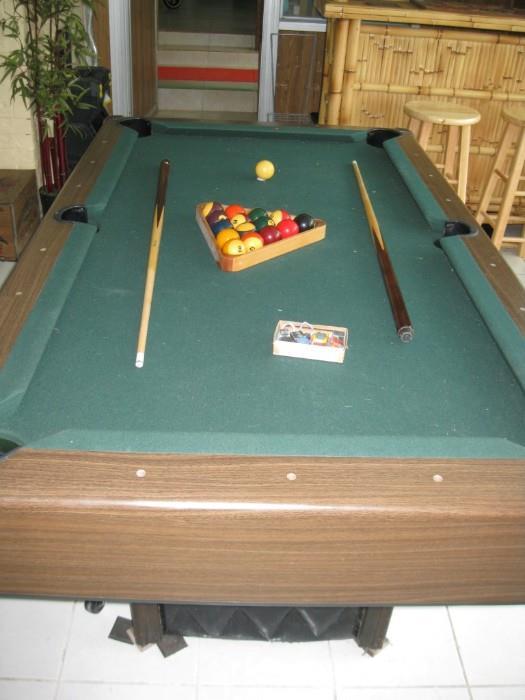 4X7 BILLIARD TABLE