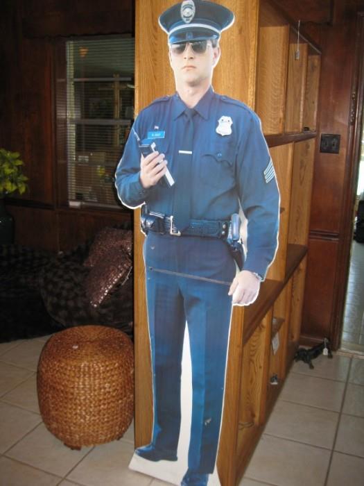 OFFICER CULP will BE ON DUTY