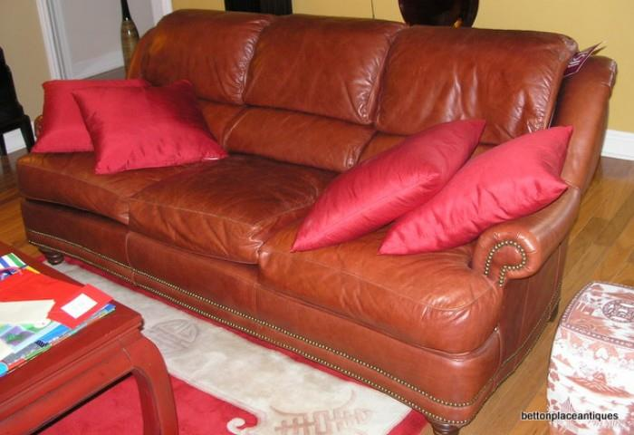 Bradington Young Leather Sofa