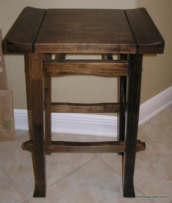 One of two Bar stools