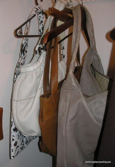 Handbags including Coach, Stone Mountain and more