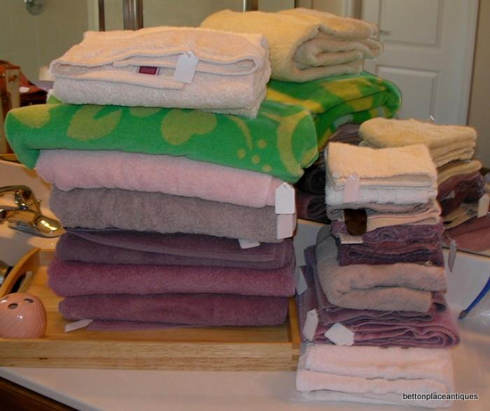 Towels etc