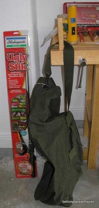 Army Bag, Childs Fishing rod