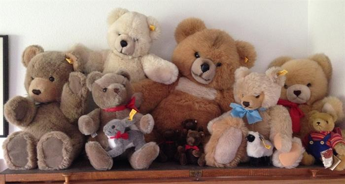 Steiff and Hermann Bears