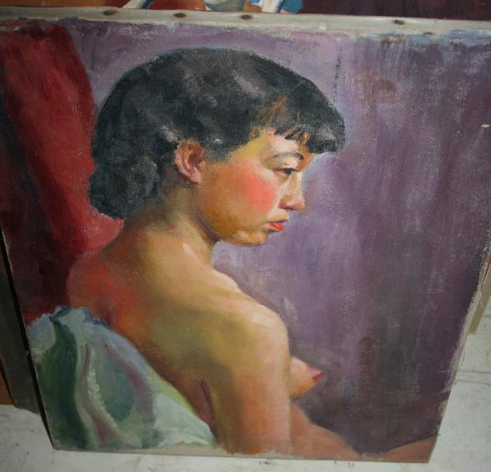 By Lou, another nude on reverse!