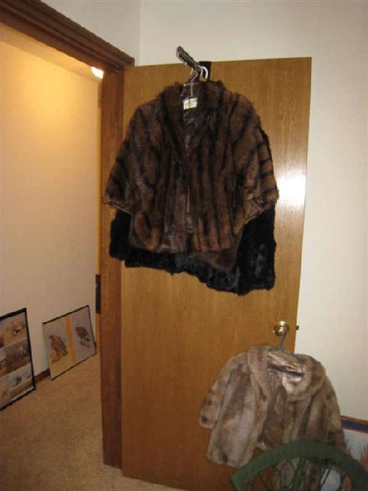 3 OF 5 FUR JACKETS