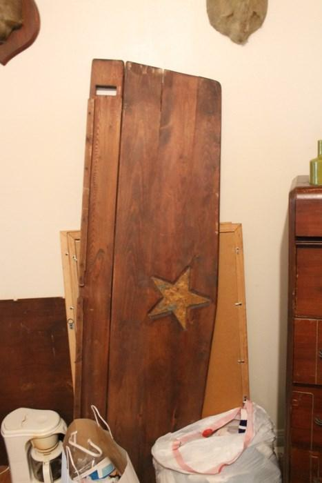 Texas Star bed hand made by colonel of Texas Army