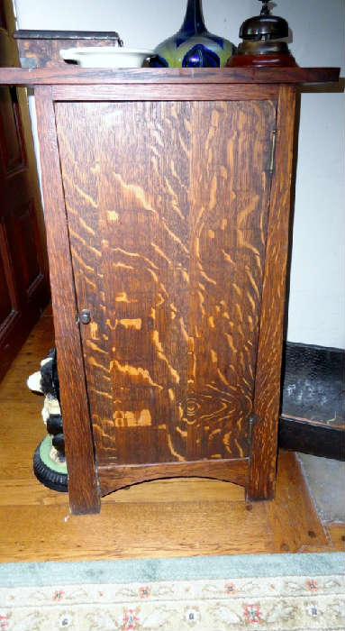 mission small cabinet