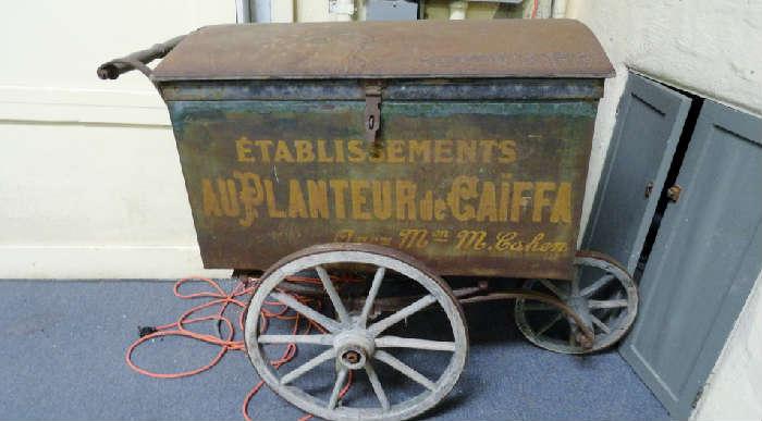 antique peddlers cart