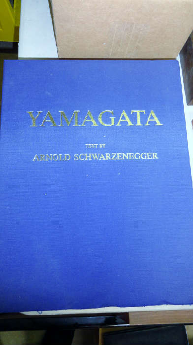 Artist proof book only given to people who owned Yamagata's art