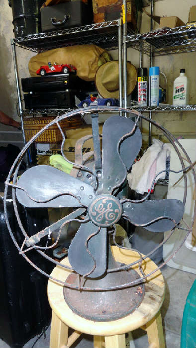 vintage large fan