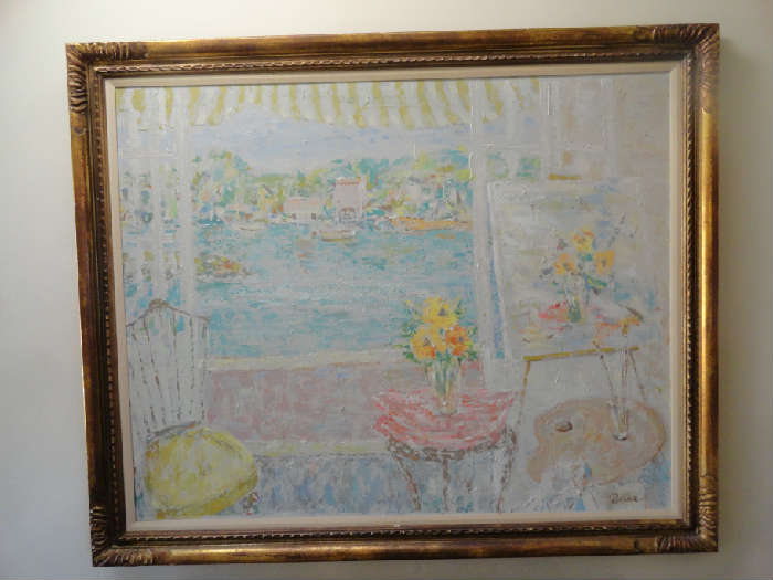 painting by polter a listed artist