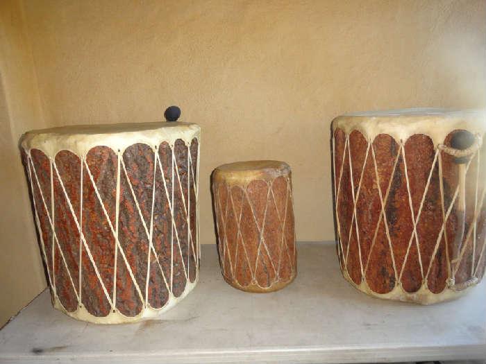 vintage indian drums